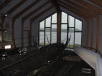 Bootshalle mit Blick auf das Noor